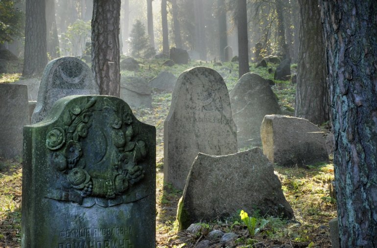 Polonyalı Tatar mezarlığı. Fotoğraf: Andrzej Sidor/ Forum