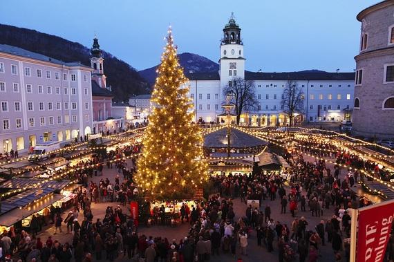 Resim kaynağı: christkindlmarkt.co.at, Salzburg