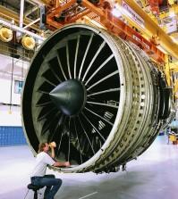Uçak-Motoru
