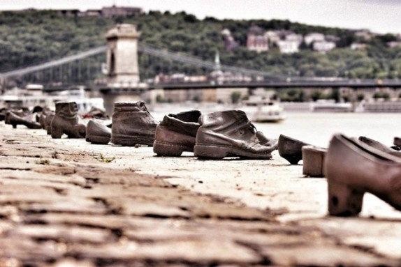 Shoes on Danube
