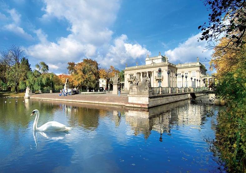 Łazienki Park - Varşova